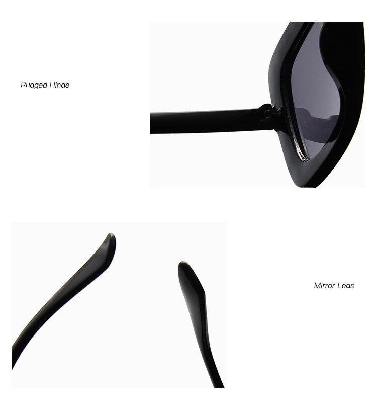 ASUOP2018 International Brand Sunglasses Ladies Crystal Multicolor Mirror Retro All Star Glasses Women Black Gray Hue Sunglasses (4)