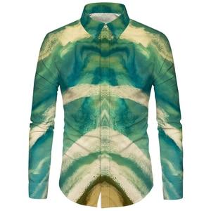 Image 5 - Cloudstyle 3d floral impresso homem camisa casual xadrez camisas hombre vestido camisas de casamento homme camisa manga longa magro ajuste camisas