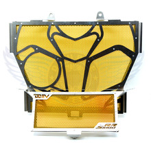 good quality motorcycle accessories stainless steel radiator cover protector grill cover protector yellow For BMW S1000RR