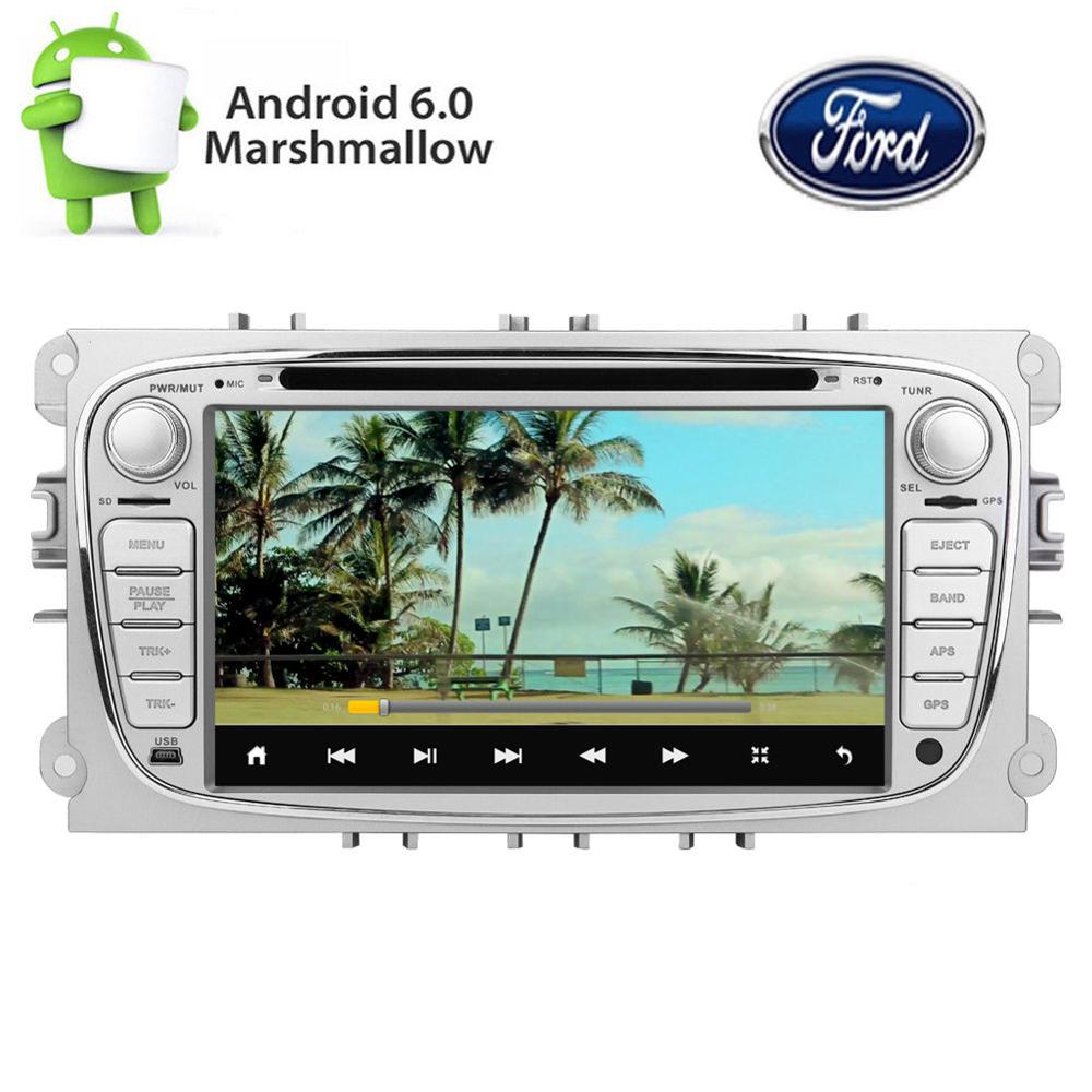 Android 0 Car DVD Player font b GPS b font Stereo Radio for Ford Mondeo Focus