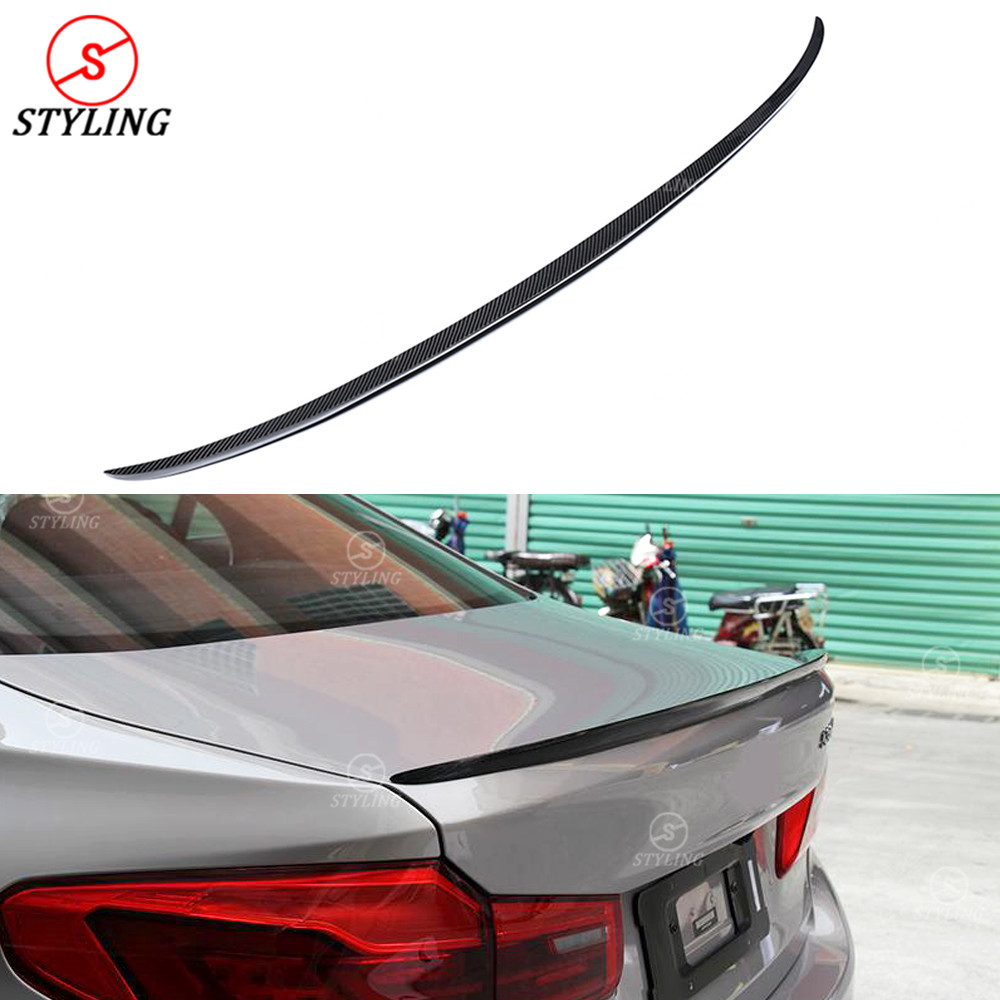 For BMW G30 F90 M5 Carbon Spoiler M5 Style 5 Series G30 530i 540i& F90 M5 Carbon Fiber rear spoiler Rear Bumper trunk wing 2017+