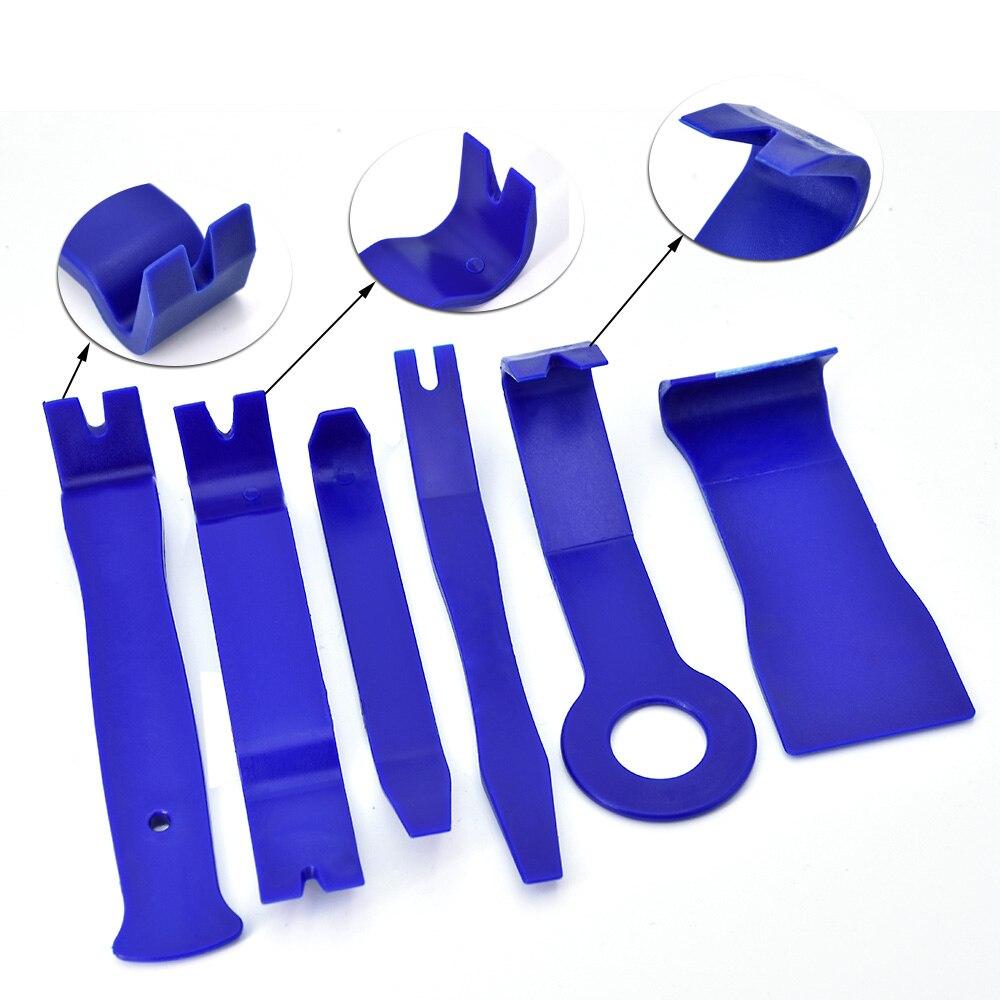 11Pcs/Set high quality Car Automobiles Door Dash Trim Tools Panel Molding Clip Retainer Removal Pry Tool Set Car Auto Tool Kit