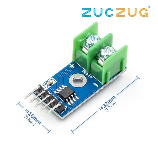 1pcs MAX6675 K type Thermocouple Temperature Sensor Temperature 0 800 Degrees Module I45