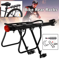 MTB Bicycle Mountain Bike Road Bikes Rear Rack Bicycle Cargo Racks Aluminum Bicycle Luggage Carrier Bicycle Accessories
