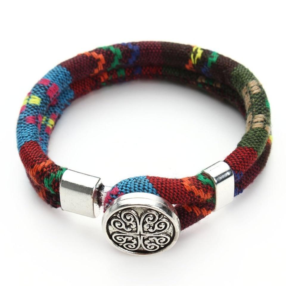 Knitted Ribbon Bracelets Bangles
