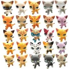 Редкие игрушки Lps Pet Shop,, короткошерстная кошка, коричневый большой Дэйн, стоячая фигурка, коллекция, 41 стиль, детский набор, подарок