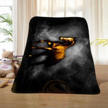P#124 Custom Horse#33 Home Decoration Bedroom Supplies Soft Blanket size 58×80,50X60,40X50inch SQ01016@H+124