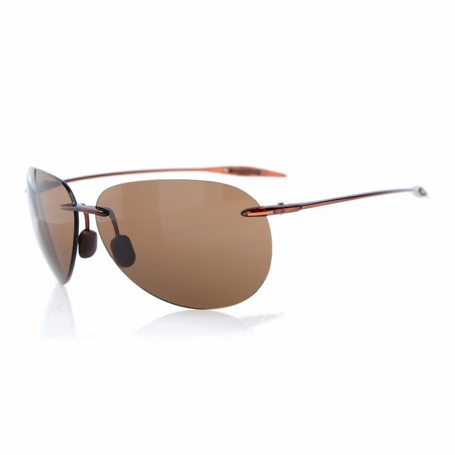 US $36.99  LQ S1606 Eyekepper Randlose Sonnenbrille TR90 Unzerbrechlich Rahmen Trogamidcx Nylon Linsen Männer Frauen Pilot Stil in LQ S1606 Eyekepper