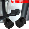 4pcs/lot For MITSUBISHI LANCER ASX Car styling Door Check Arm Interior Protection Covers ABS Accessories Hot
