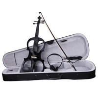 IRIN 4 4 Electric Violin Violino Fiddle Stringed Instrument Wood Maple Ebony Fittings Cable Headphone Case
