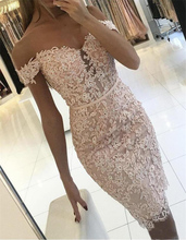 Sexy Women Floral Lace Off Shoulder Bodycon Evening Party  Club Mini Dress