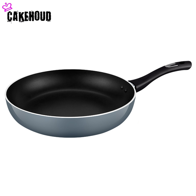 CAKEHOUD 26cm Aluminum Non-stick Frying Pan Steak Egg Smoke-free Specialty Cooking Pan Oven  Dishwasher Safe Kitchen Accessories