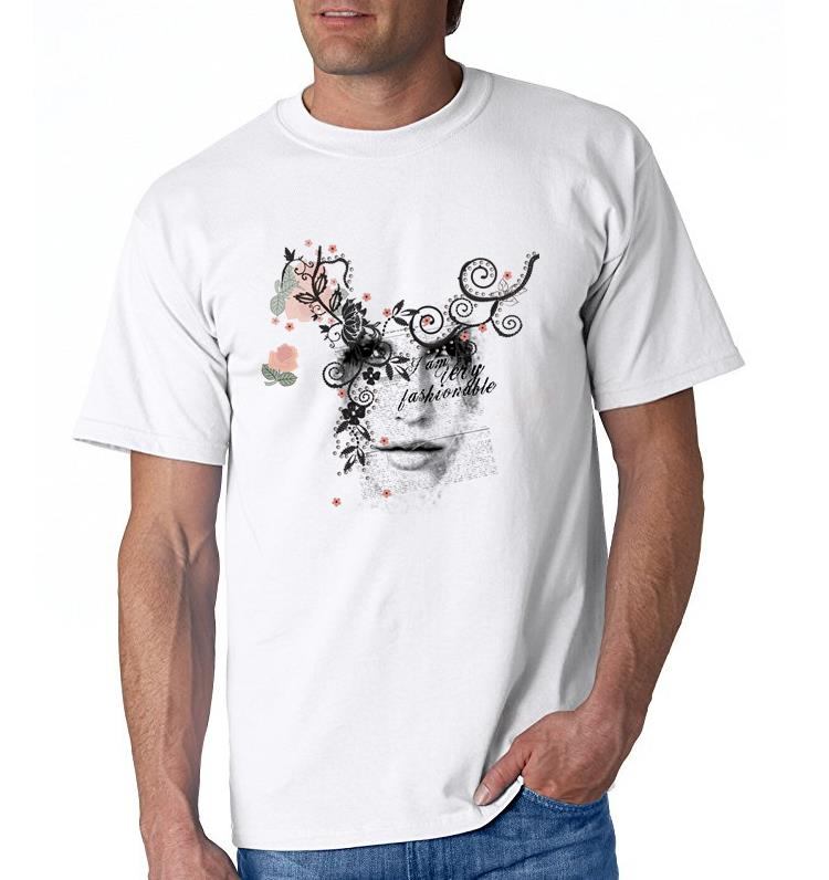 Cartoon Character T Shirt Design : Fashion vintage design casual printed men s t shirt