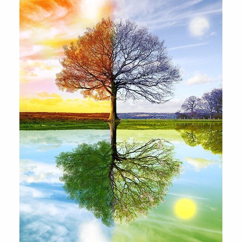 Картинки времена года зима весна лето осень