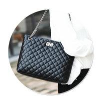 2016 Venta Caliente de Las Mujeres Del Diseñador Marca Bolsos de Hombro bordado estilo Europa muestran señoras cadena de METAL monedero y bolso