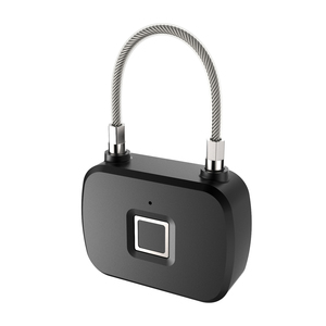 Image 4 - זהב אבטחה חכם מנעול Keyless חכם מנעול טביעת אצבע IP66 עמיד למים נגד גניבת אבטחת מנעול דלת מקרה מזוודות מנעול L13