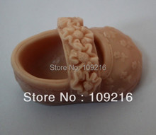 2pcs/A Pair of Children's Shoes (ZX925) Silicone Handmade Soap Mold Crafts DIY Mold