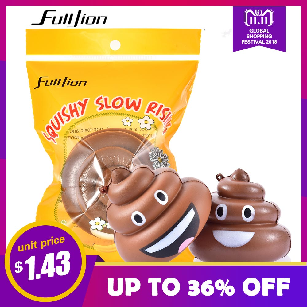 Fulljion Antistress Squishy Poop Squishe Novelty Gag Toys Gags Practical Jokes Stress Relief Toys For Children Fun Popular Gifts fulljion squishy alpaca slow rising antistress squishe toys jumbo fun gadget squisy stress relief toy girls gags practical jokes