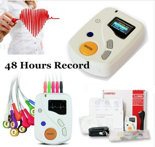CE Dynamic Systems 48 Hours Record Holter+ USB + bag+ Disk CONTEC Free shippingCE Dynamic Systems 48 Hours Record Holter+ USB + bag+ Disk CONTEC Free shipping