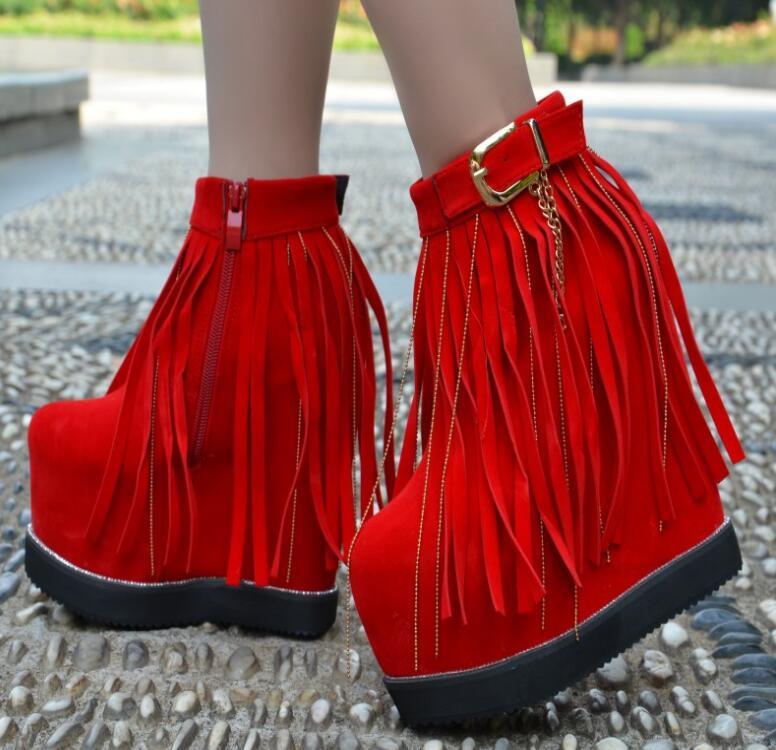 Bottom Flecos Grueso 1 16 Botas El Mujer 2 Cm Pendiente Muffin Fondo Zapatos De Con Invierno zz1pwOqXB