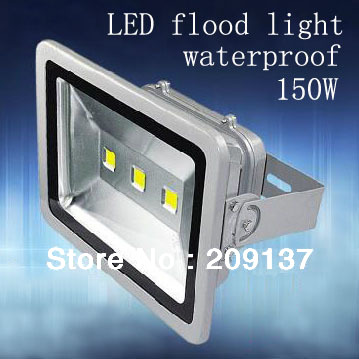 Ultra Thin IP65 Waterproof LED Flood Light 150w Led Floodlight Outdoor Lighting AC85V-265V LED Spotlight