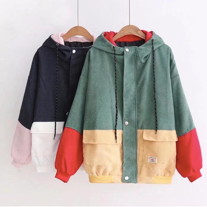 Jacket   Women   Basic     Jacket   Female Warm Coat Women Clothes Casual Feminino Coats   Jacket   Outwear Hooded Spliced Zipper   Jacket
