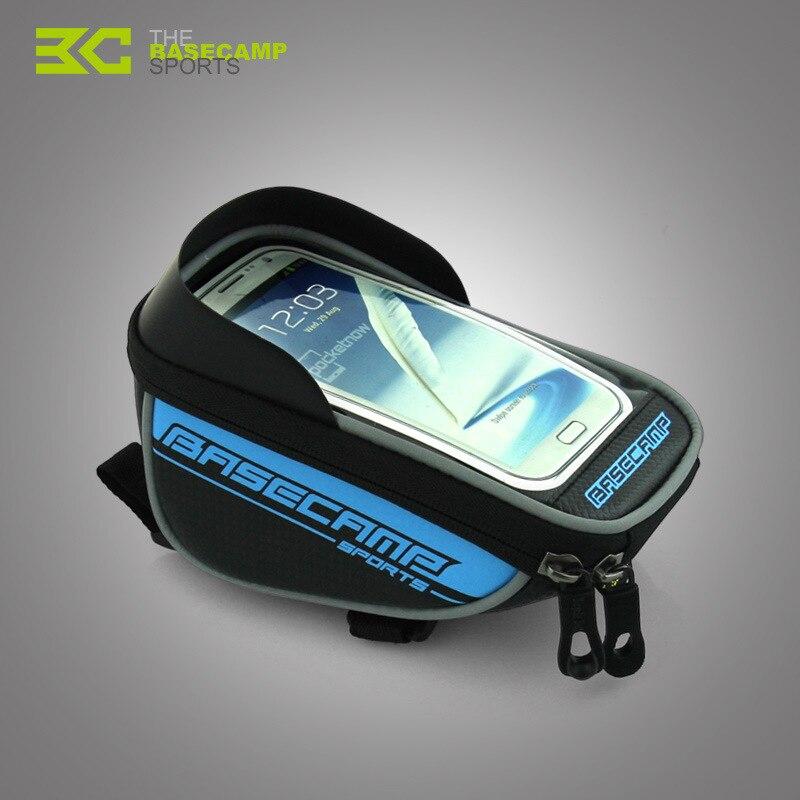 BaseCamp Original Package Cycling Frame Front Tube Bike <font><b>Phone</b></font> <font><b>Holder</b></font> For <font><b>iPhone</b></font> 5 5S 6 6S Plus Samsung LG <font><b>Phone</b></font> Stand