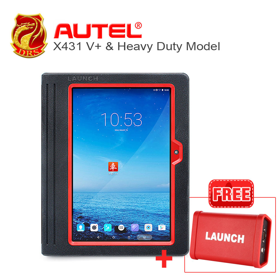 [Launch Dealer] 100% Original launch X431 V+ Scanner support Wifi/Bluetooth HD Heavy Duty Truck Diagnostic Module