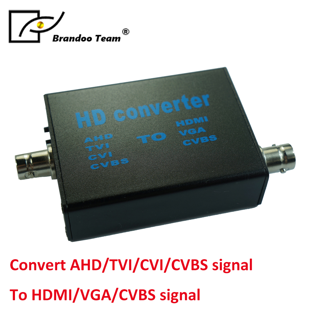 Video Converter AHD to HDMI/VGA/CVBS Converter EU/US adapter wanscam hw0044 waterproof dome p2p sd wireless hd 720p 5x optical zoom ir cut ip network camera 6 array leds night vision 80m page 2 page 1 page 3 page