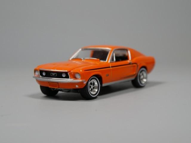 Auto Inn Greenlight 164 1968 Ford Mustang GT Diecast Car Model In