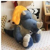 Free Shipping One Pcs 25CM Dinosaurs Three Colors Plush Toys Stuffed Animal Baby Dolls Gift For