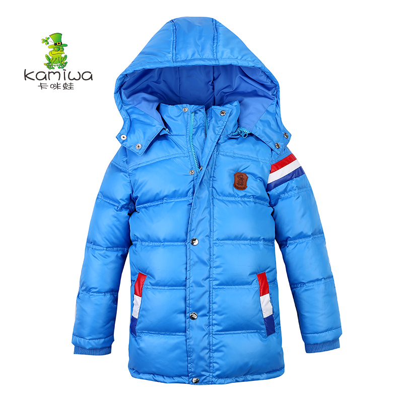 Boys winter Jackets Removable hooded  Thick white duck down Parkas kids winter jacket  warm boys coat for3 4 5 6 7 8 10 12 year 2017 winter down jackets for boys