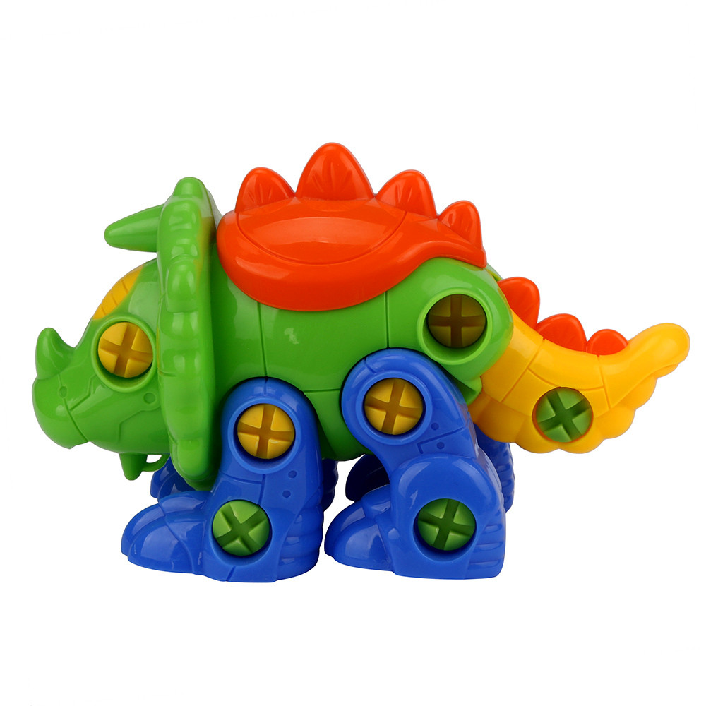 Creative Fashion Disassembly Dinosaur Design Educational Toys For Children Kids b#1102 dropshipping