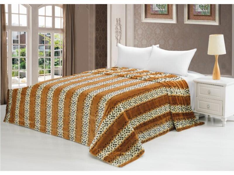 Fur bedspread Irbis цена