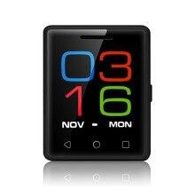 D'origine AEKU Mobile Téléphone MTK2502 1.54 Pouce 2.5D écran Mini Mobile Téléphone MTK2502 Bluetooth 4.0 PK Vphone S8