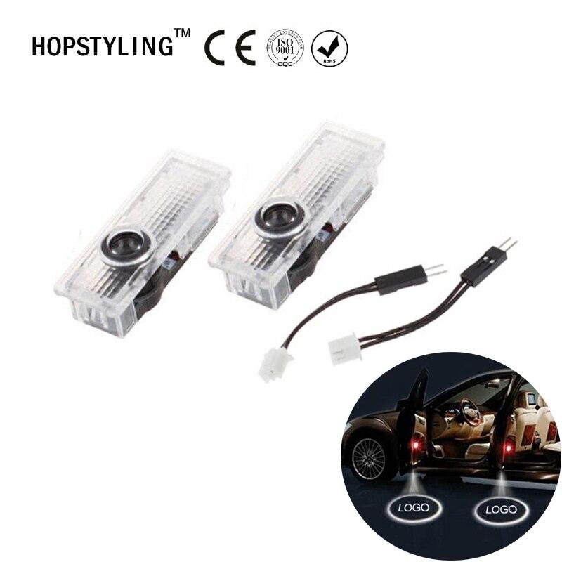 2Sets/Lot ED Car Door Welcome Light Laser Projector For BMW E90 E91 E92 E93 M3 E60 E61 F10 F07 F01 F02 Shadow Lamp Door Light lot 2 90 lot 3 60 g700 sop28