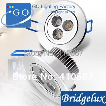 FedEx DHL 3 Вт светодиодный потолочный светильник, светодиодный точечный светильник, теплый белый/холодный белый 85-265 в