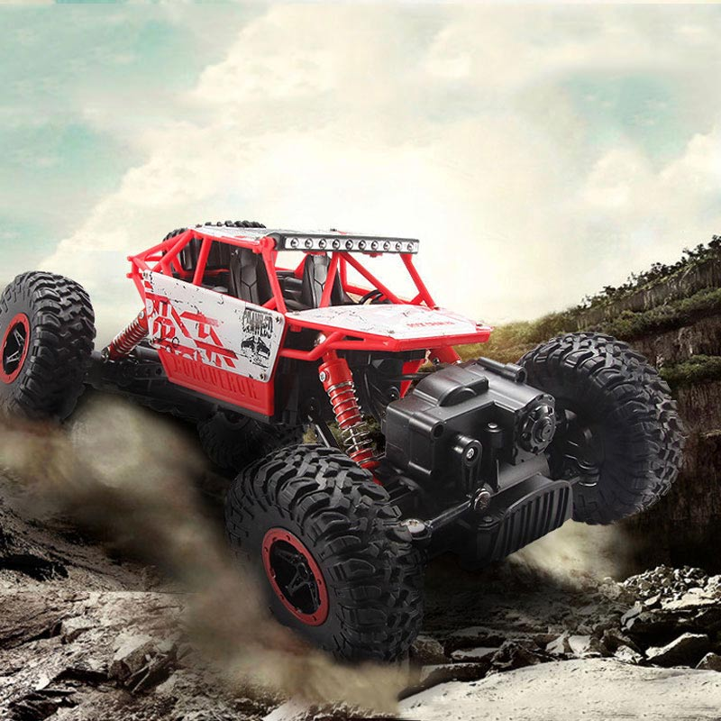 RC Car 2.4G 4CH 4WD Rechargeable 2 Motor Drive Remote Control 1:18 Car Model Off-Road Racing Vehicle Toy Shipping from Russia 2017 navigator rc racing car 2163 4ch 1 8 60cm large size off road remote control car truck vehile model toy with led light