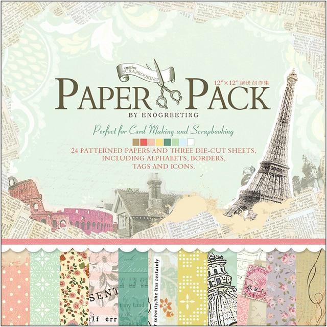 Buy vintage paris eiffel tower scrapbook - Boutique scrapbooking paris ...