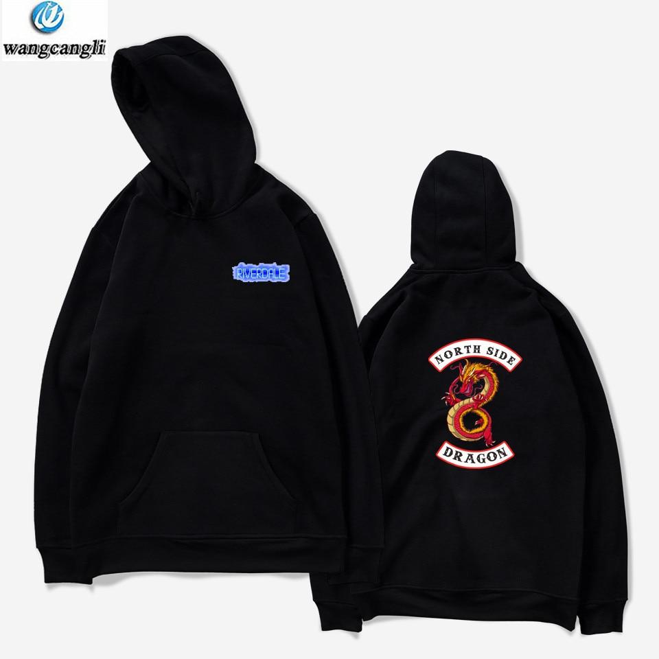 Riverdale Harajuku Loose Hoodie Sweatshirt Men/Women Autumn Winter Fashion Tracksuit Sweatshirt Women Plus Size Hoodies