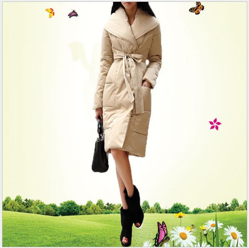 Latest Women Fashion Winter cotton jacket Elegant Hooded Thick Super Warm Coat Slim Big yards Leisure Medium long Coat G2223