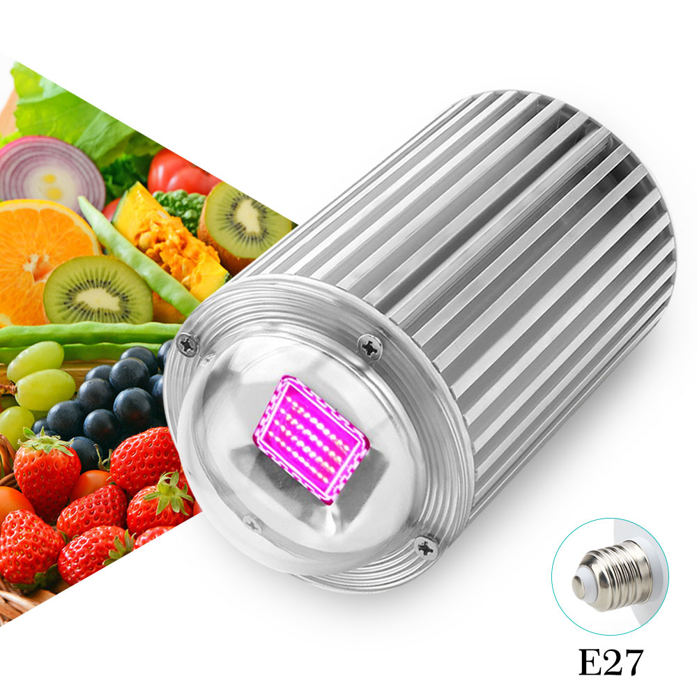 120W COB Led grow light E27 Red+Blue for indoor garden Plants flowers vegetables & Hydroponics system growing light