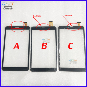 """8"""" inch Touch Screen panel digitizer glass YJ350FPC-V0 FHX DP080133-F1 XLD808-V0 For DEXP Ursus N280/N180/P280/NS280 Tablet(China)"""