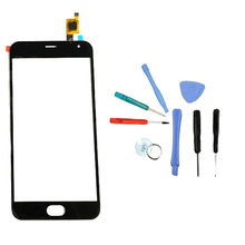 LINGWUZHE Sensor Replacement Glass Panel For Meizu Meilan M2 Mini 4G LTE 5 inch Digitizer Front Outer Touch Screen With Toolkit