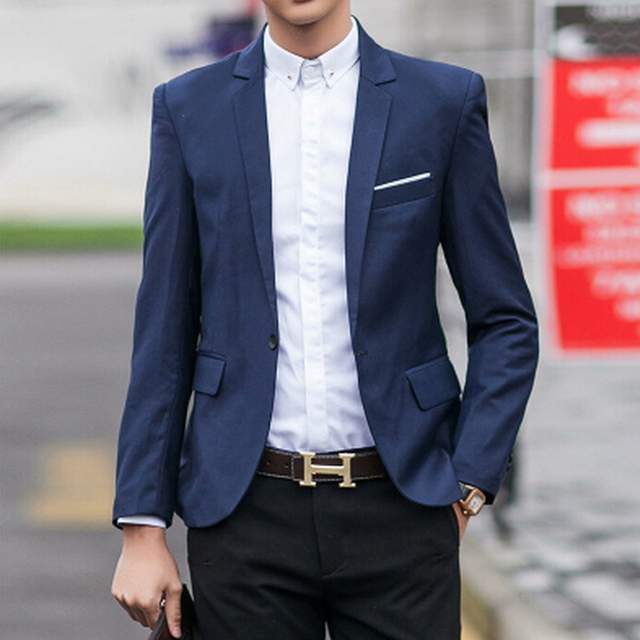 Hot!Free Shipping 2017 New Year Special a buckle multicolor classic casual men's suits blazer men men blazer M_XXXL