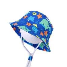 Новая летняя Панама осенняя шляпа от солнца для маленьких мальчиков