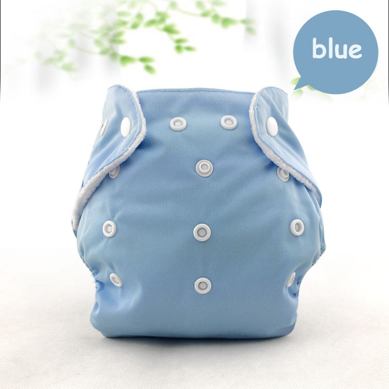 Adjustable Cloth Diaper Unisex Reusable Newborn Baby Nappies Pocket Cloth Diaper Soft Breathable Potty Training Pants Baby Nappi
