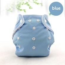Adjustable Cloth Diaper Unisex Reusable Newborn Baby Nappies Pocket Cloth Diaper Soft Breathable Potty Training Pants