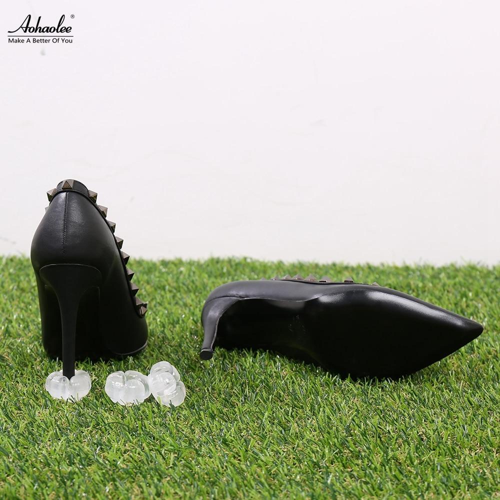 Aohaolee 5 parov / paket Novi ščitniki za pete Visoke pete zamaški - Pribor za čevlje