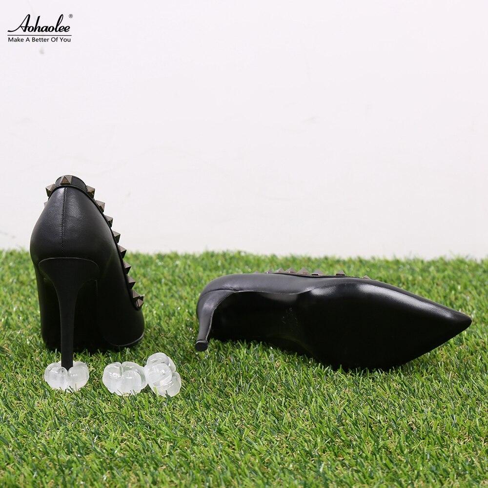 Aohaolee 5 Paar / Pack New Heel Protektoren High Heeler Ferse Stopper - Schuhzubehör - Foto 1